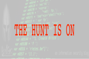Threat Hunting II – Recommendations